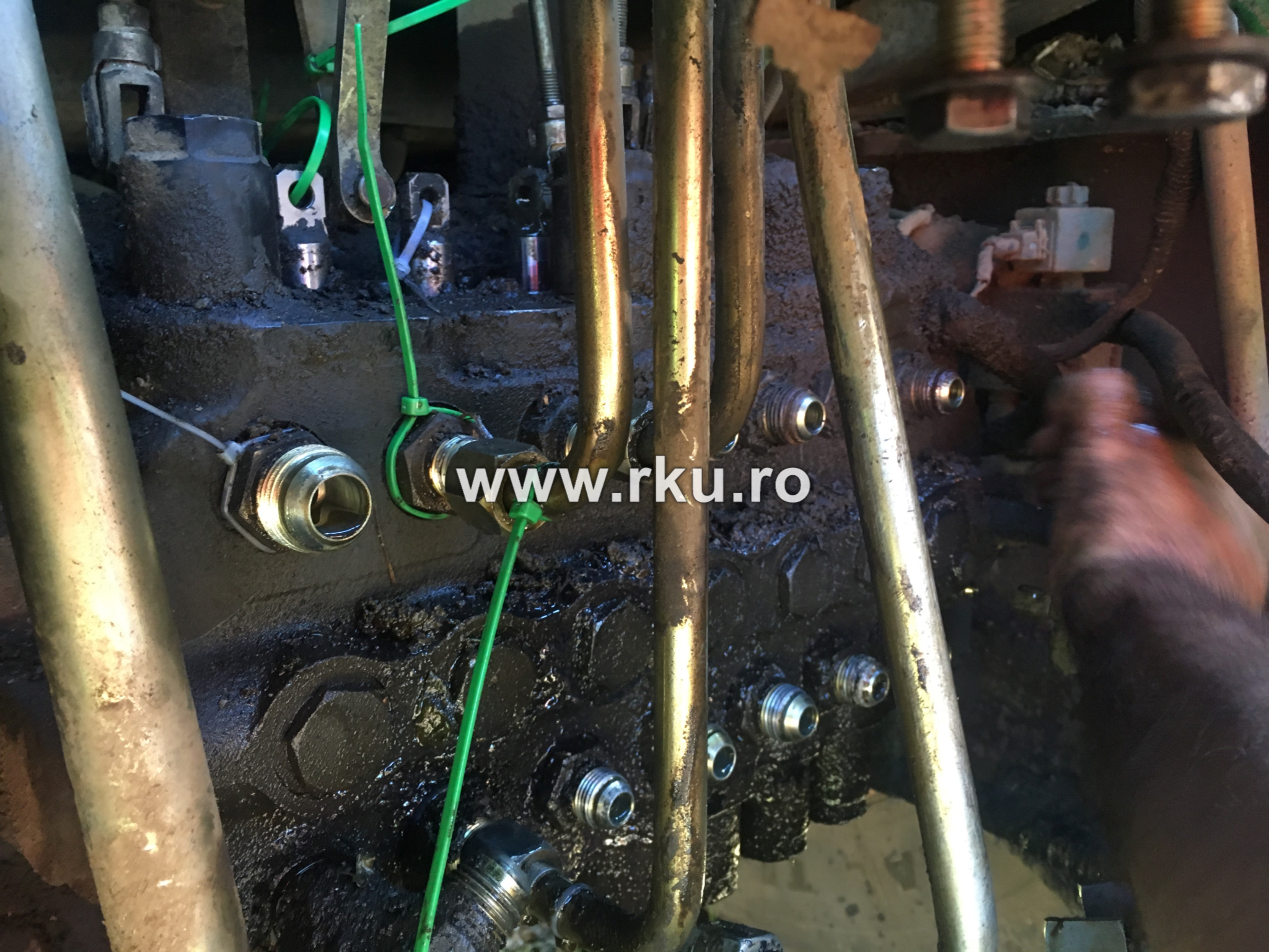 distribuitor sistem hidraulic terex