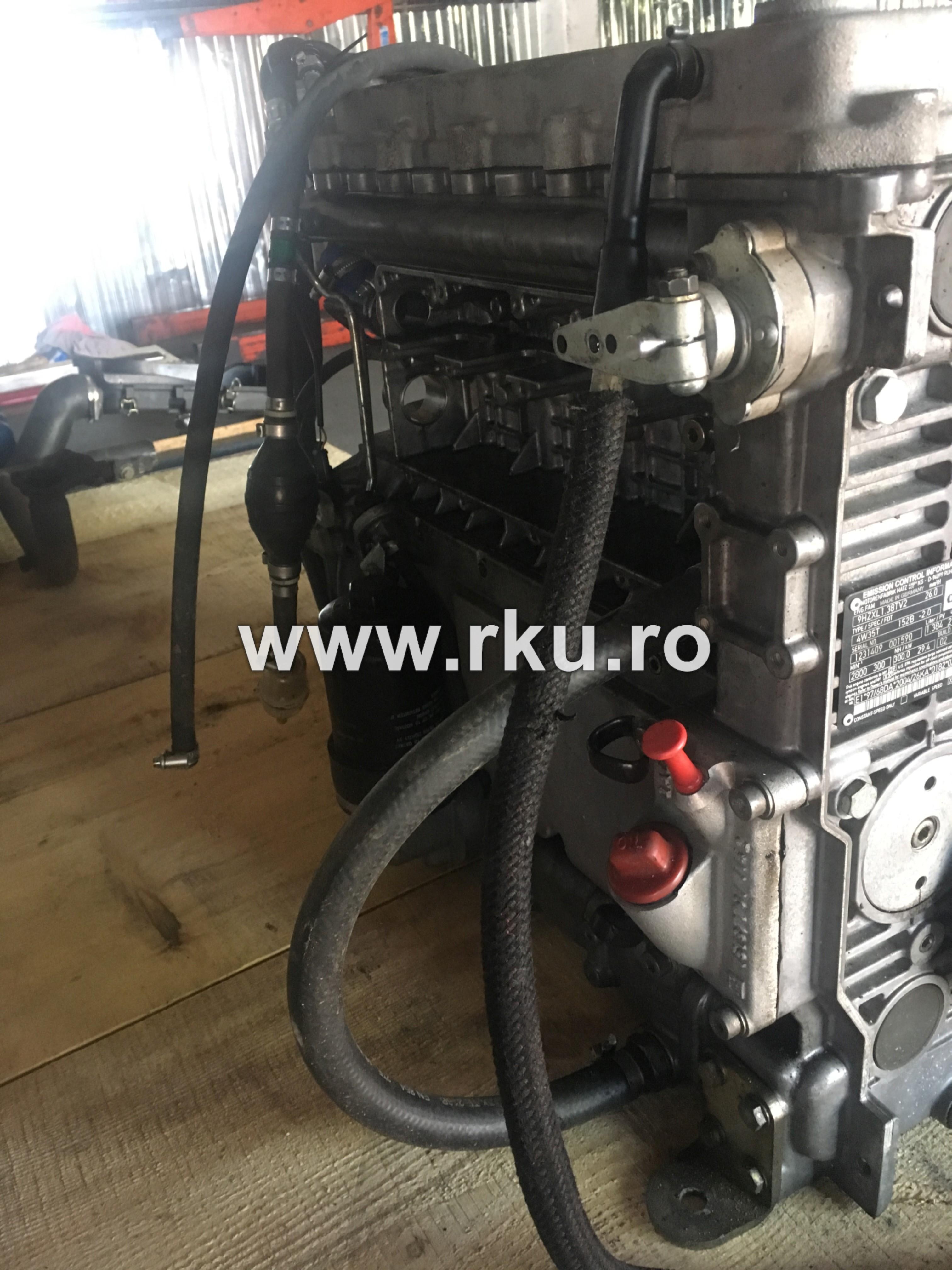 reparatie motor HATZ Compactor HAMM HD 14
