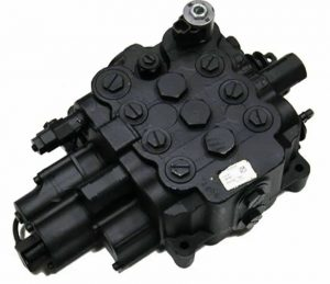 Distribuitor hidraulic pentru buldoexcavator JCB 3CX